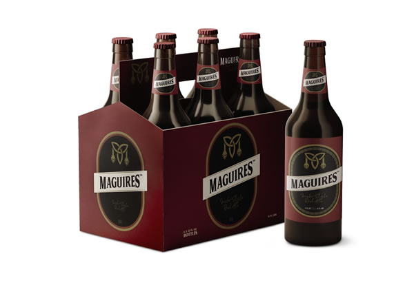 maguires red ale at aldi