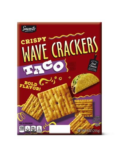 savoritz taco crackers