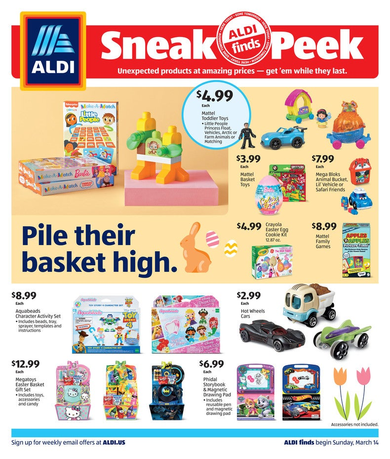 aldi ad march 17th, 2021 page 1 of 4