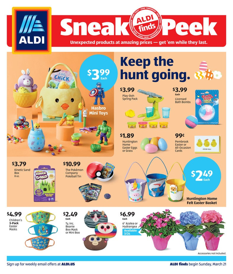 Aldi Ad March 24th 2021 Page 1 of 4