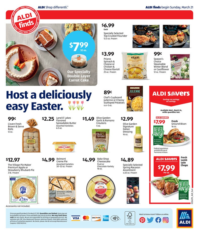 Aldi Ad March 24th 2021 Page 4 of 4