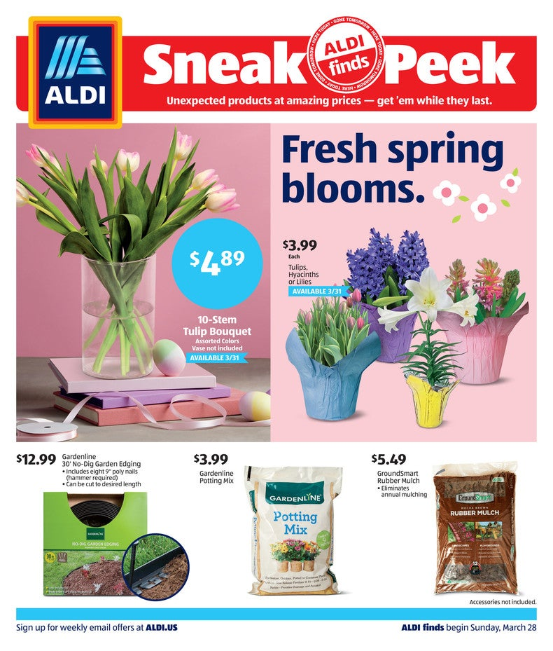 Aldi Ad March 31st 2021 Page 1 of 4