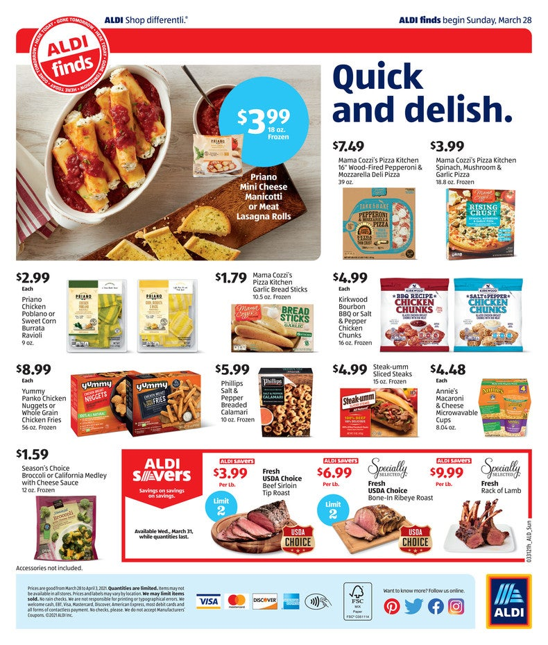 Aldi Ad March 31st 2021 Page 4 of 4