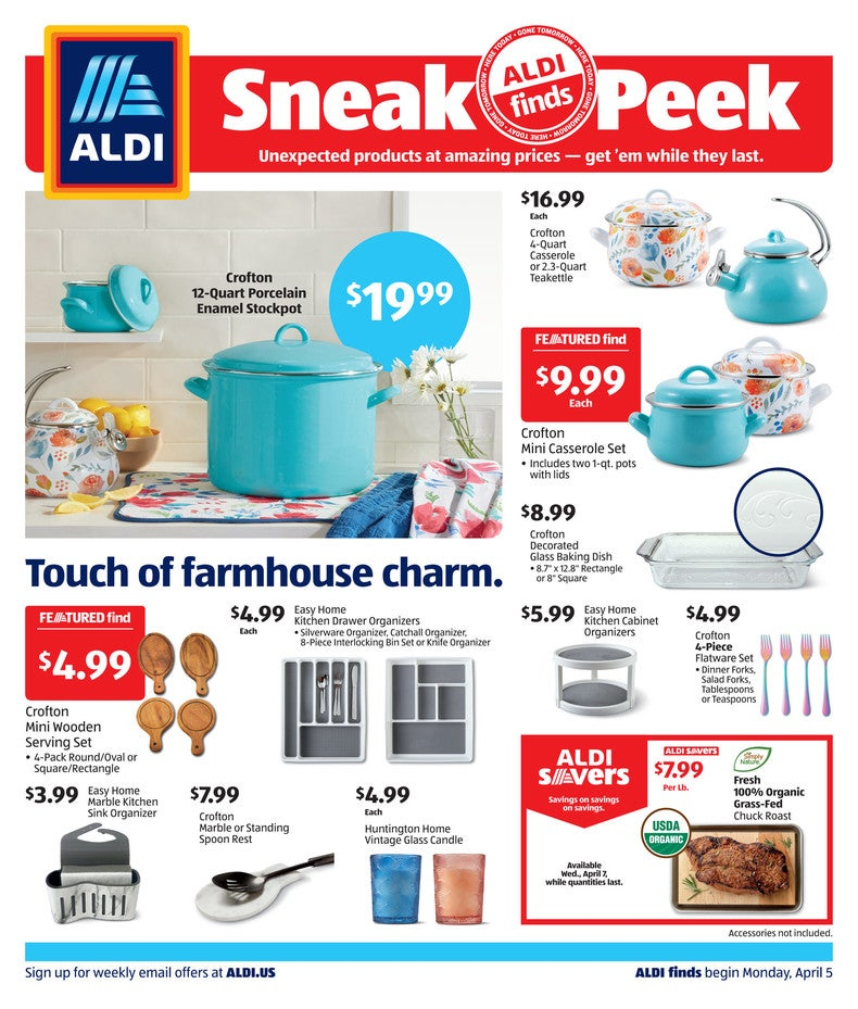 Aldi Ad April 7th 2021 Page 1 of 2
