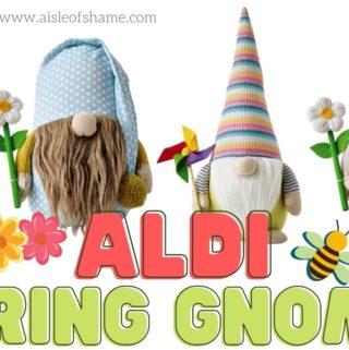 aldi spring gnomes