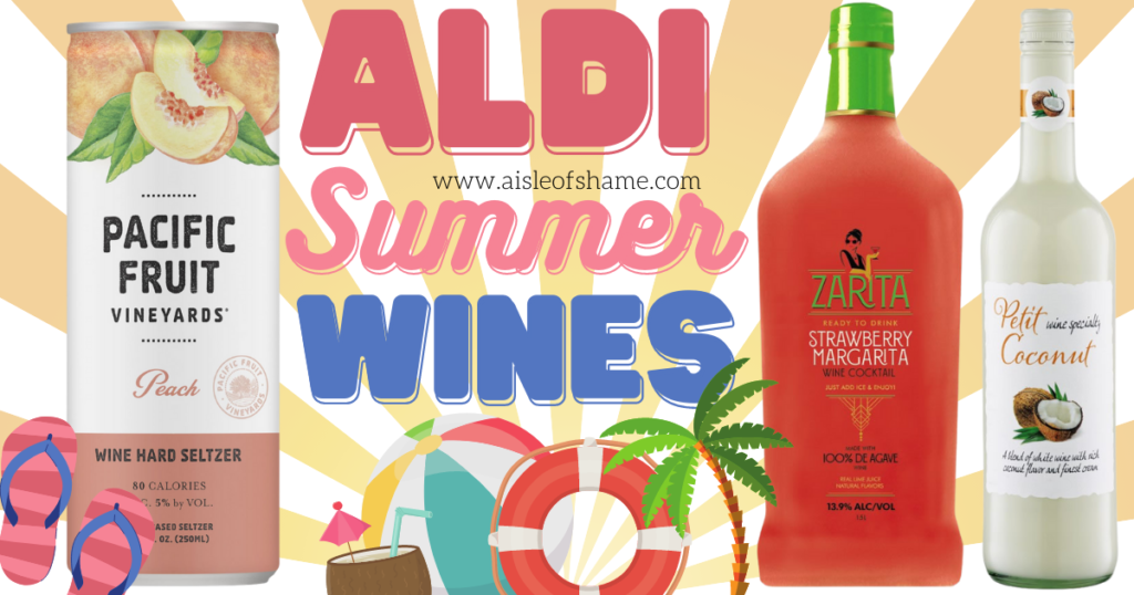 Aldi summer wines