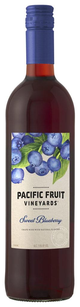 sweet blueberry wine