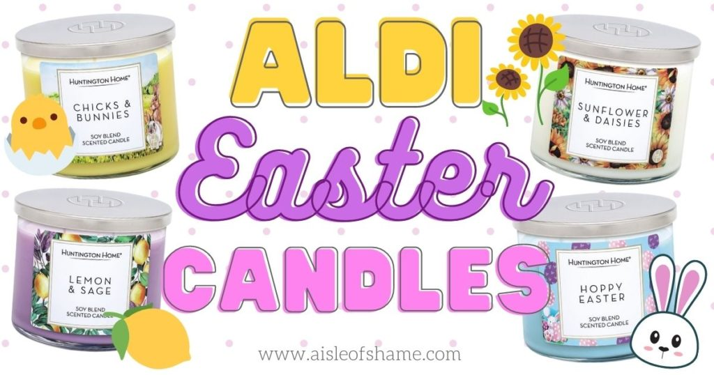 aldi easter candles
