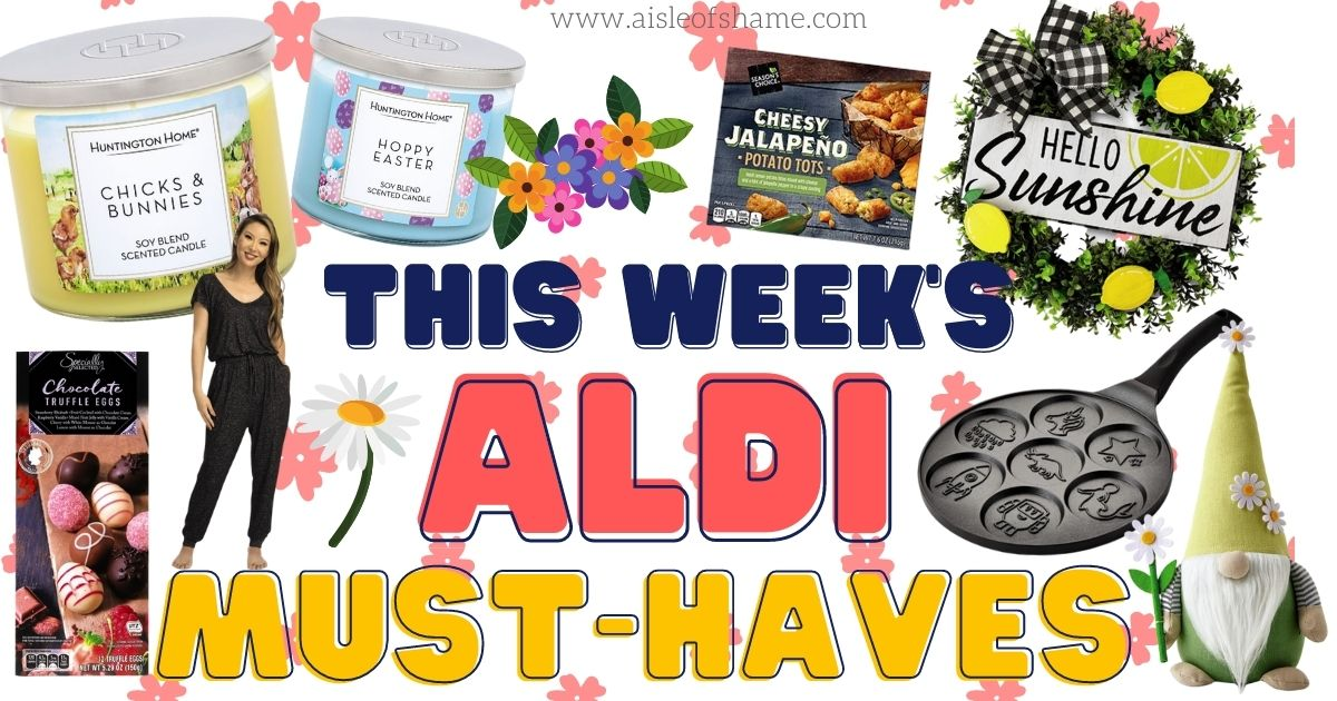 aldi must haves easter