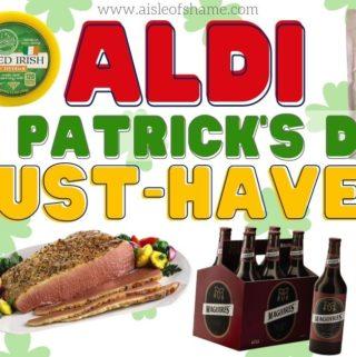 aldi st patricks day must haves