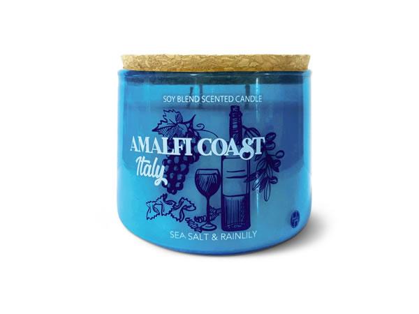 amalfi coast travel candle at Aldi