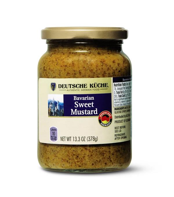 Aldi bavarian sweet mustard