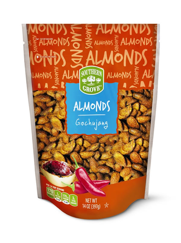 gochujang almonds at aldi