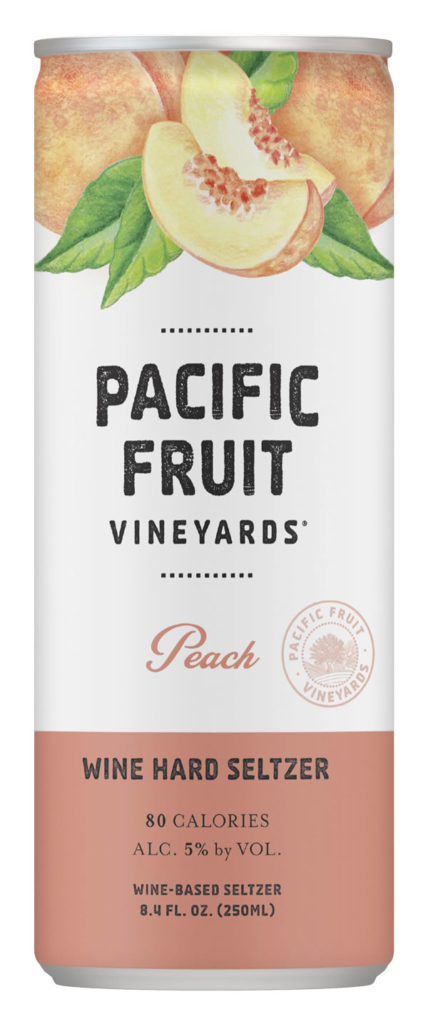 Aldi Summer Wines - peach hard seltzer