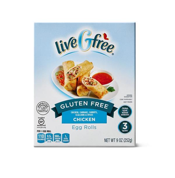 gluten free eggrolls at Aldi