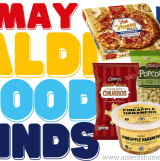 Aldi May Food Finds