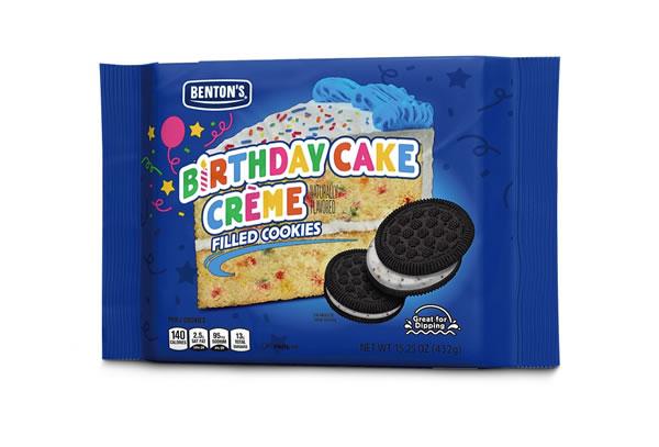 birthday cake creme cookies