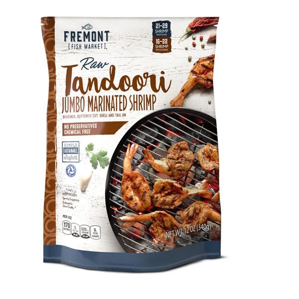 tandoori marinated shrimp
