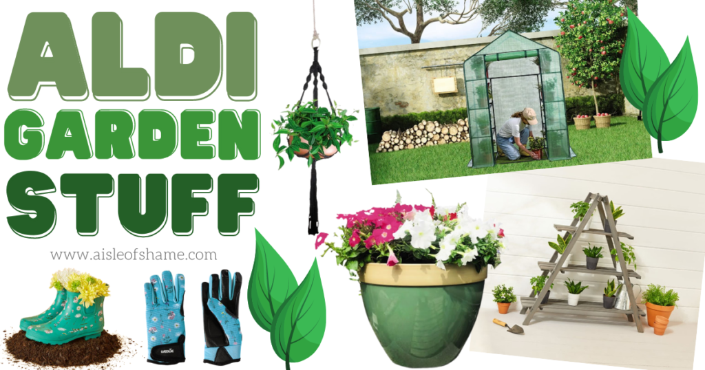 aldi gardening items