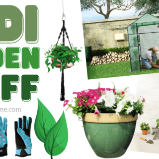 aldi gardening items