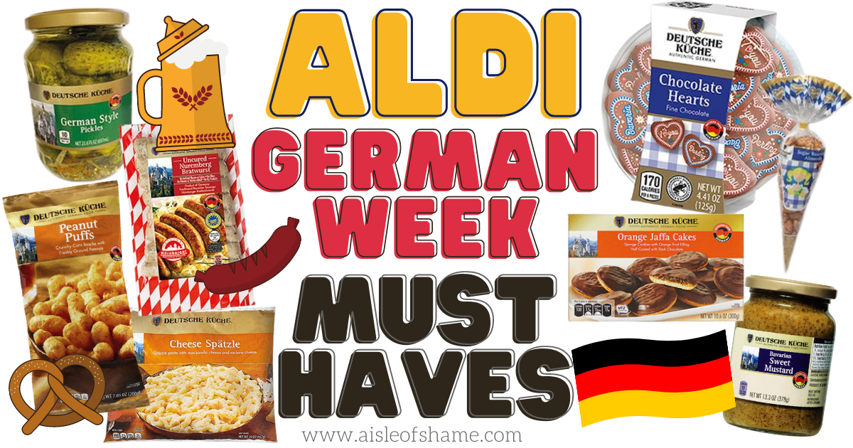 aldi german week favorites and must haves