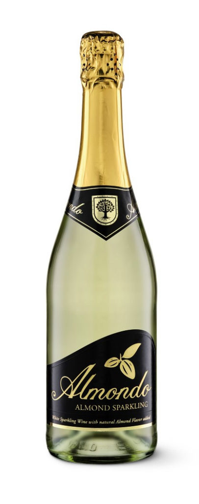 almond sparkling wine