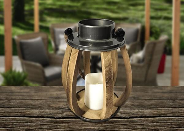 aldi garden lantern