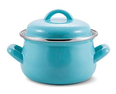 speckled blue mini casseroles