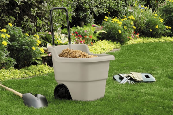 aldi gardening items suncast cart
