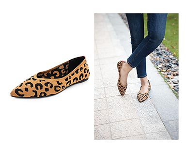 serra leopard print flats aldi dupe for rothy's