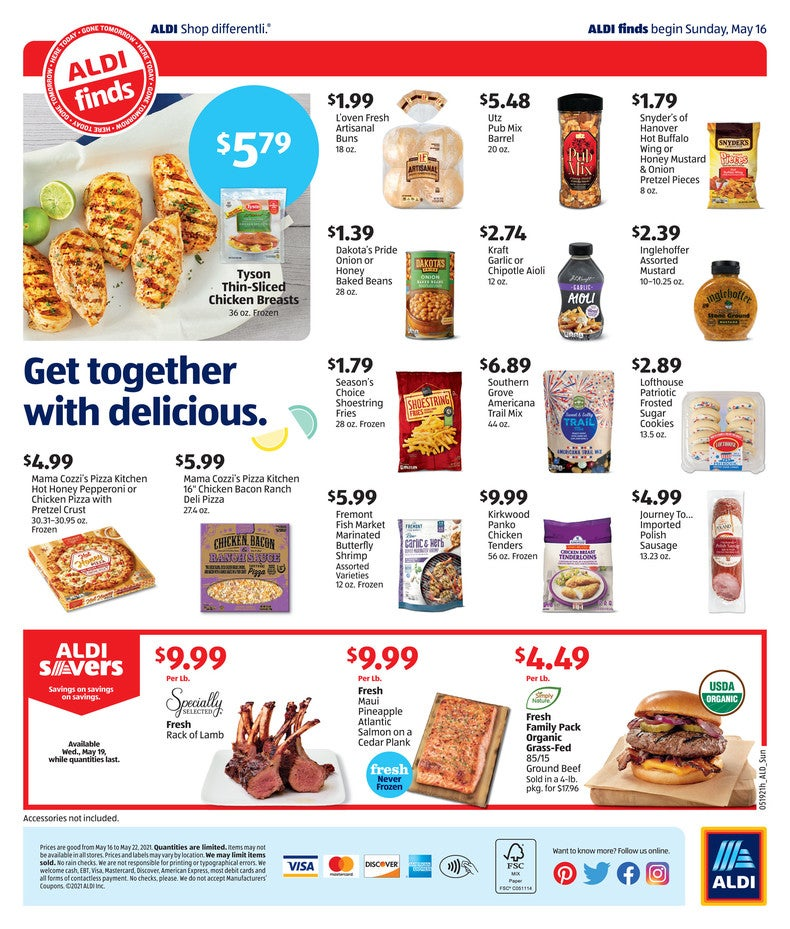 Aldi ad may 19th - 25th 2021 page 4 of 4