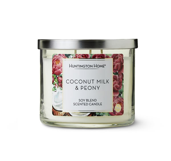 coconut milk and peony aldi may candles