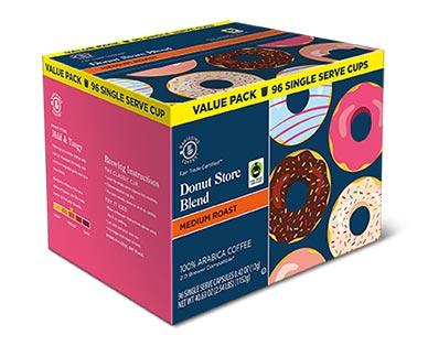 donut store bulk coffee pods