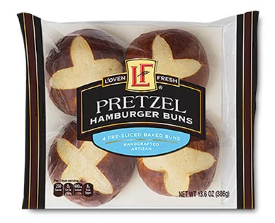 pretzel buns