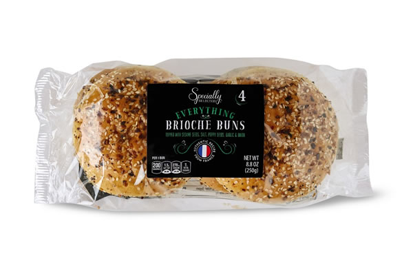 aldi everything brioche buns