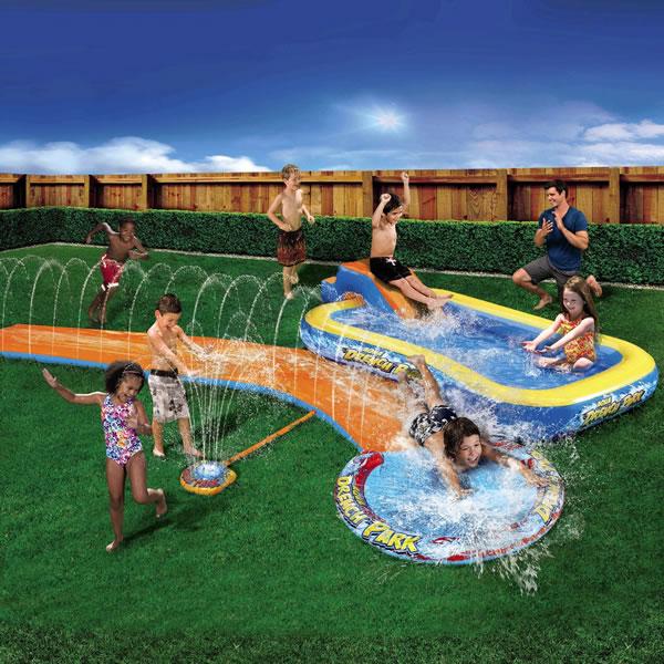 aldi Banzai Aqua Drench 3-in-1 Splash Park