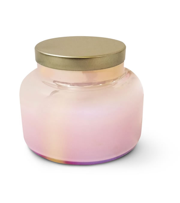 aldi anthropologie dupe candle in pink