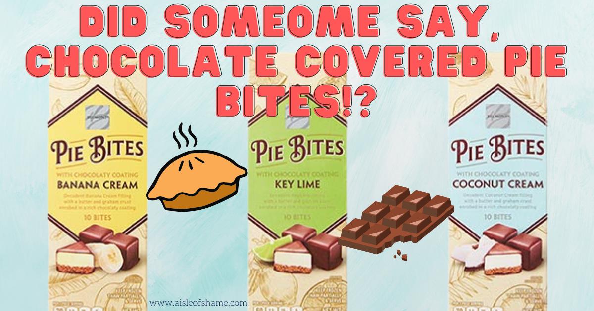 aldi chocolate covered pie bites