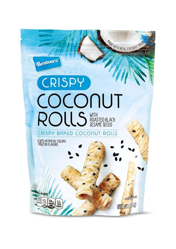 aldi coconut rolls snack