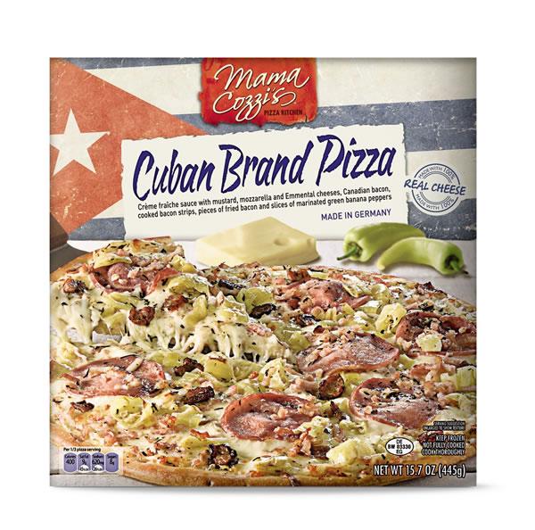 Aldi cuban pizza