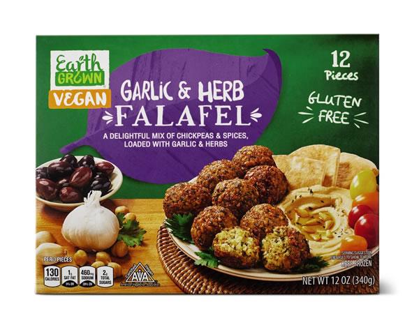 aldi garlic herb falafel