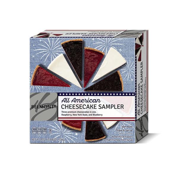 aldi all american cheesecake sampler