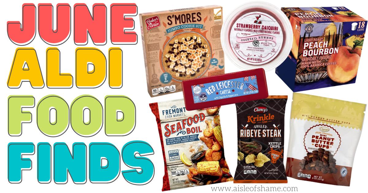 June Aldi Food Finds 2021