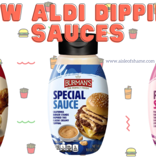 new aldi dipping sauces for red bag chicken