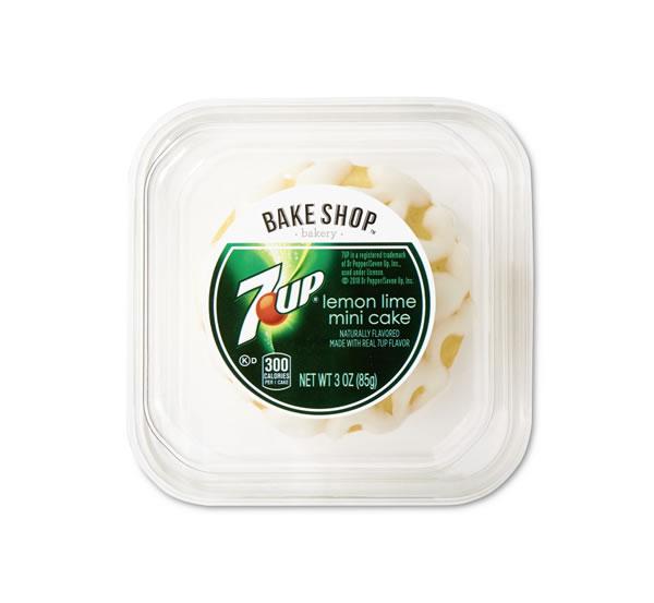 Bake Shop Mini 7 Up Cake