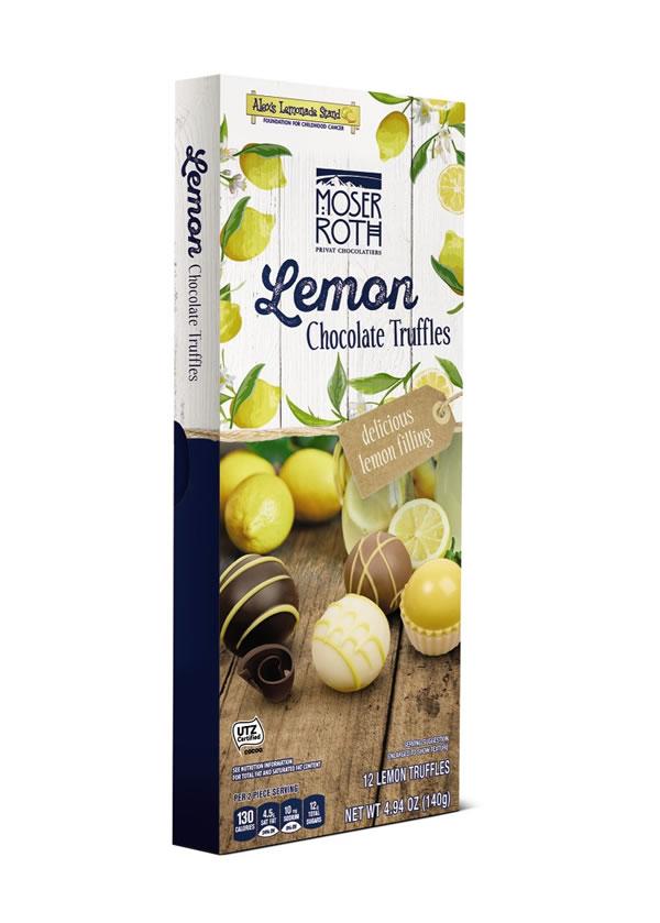 Moser Roth Lemon Chocolate Truffles