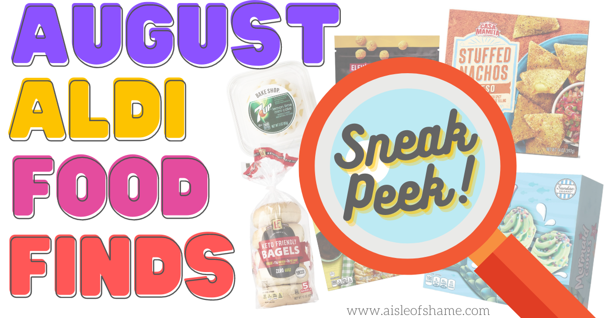 Aldi august Food Finds