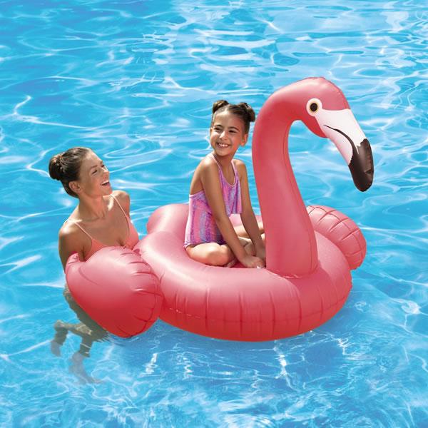 aldi flamingo pool float