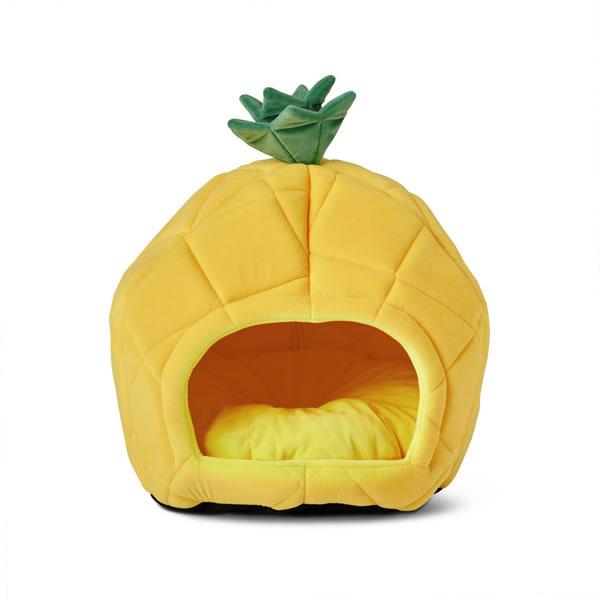 aldi pineapple pet bed