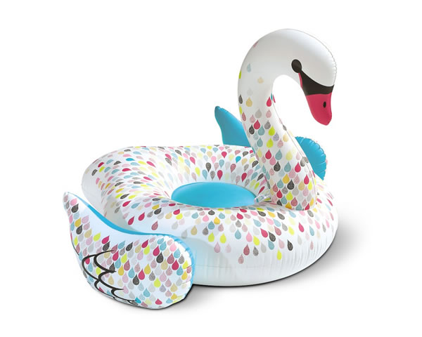 aldi swan pool float